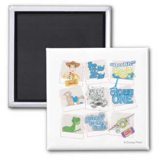 Toy Story Picture Collage Magnet