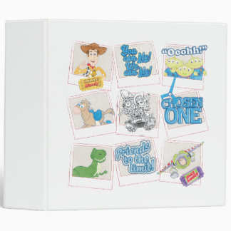 Toy Story: Polaroid Picture Collage Binder