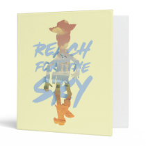 "Toy Story | ""Reach For The Sky"" Woody & Buzz Art 3 Ring Binder"