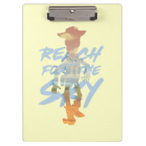 "Toy Story | ""Reach For The Sky"" Woody & Buzz Art Clipboard"