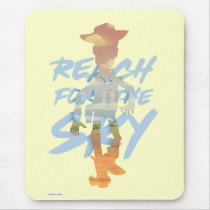 "Toy Story | ""Reach For The Sky"" Woody & Buzz Art Mouse Pad"
