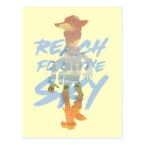 "Toy Story | ""Reach For The Sky"" Woody & Buzz Art Postcard"