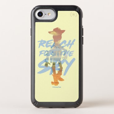 "Toy Story | ""Reach For The Sky"" Woody & Buzz Art Speck iPhone Case"