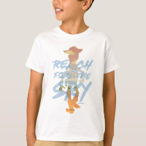 "Toy Story | ""Reach For The Sky"" Woody & Buzz Art T-Shirt"