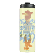"Toy Story | ""Reach For The Sky"" Woody & Buzz Art Thermal Tumbler"