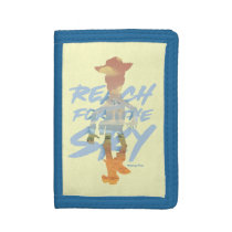 "Toy Story | ""Reach For The Sky"" Woody & Buzz Art Trifold Wallet"