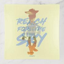 "Toy Story | ""Reach For The Sky"" Woody & Buzz Art Trinket Tray"