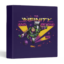 "Toy Story | Retro ""To Infinity And Beyond"" Buzz 3 Ring Binder"