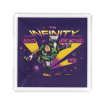 "Toy Story | Retro ""To Infinity And Beyond"" Buzz Acrylic Tray"