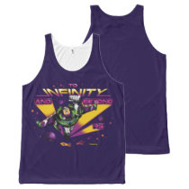 "Toy Story | Retro ""To Infinity And Beyond"" Buzz All-Over-Print Tank Top"