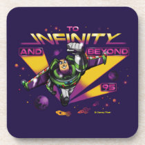 "Toy Story | Retro ""To Infinity And Beyond"" Buzz Beverage Coaster"