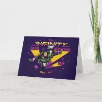 """Toy Story   Retro """"To Infinity And Beyond"""" Buzz Card"""