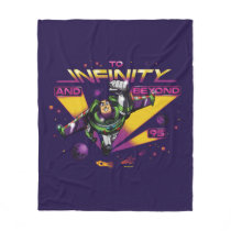 "Toy Story | Retro ""To Infinity And Beyond"" Buzz Fleece Blanket"