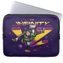 "Toy Story | Retro ""To Infinity And Beyond"" Buzz Laptop Sleeve"
