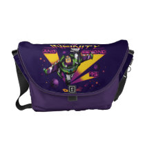 "Toy Story | Retro ""To Infinity And Beyond"" Buzz Messenger Bag"