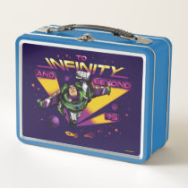 "Toy Story | Retro ""To Infinity And Beyond"" Buzz Metal Lunch Box"