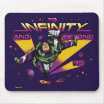"Toy Story | Retro ""To Infinity And Beyond"" Buzz Mouse Pad"