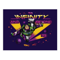 "Toy Story | Retro ""To Infinity And Beyond"" Buzz Postcard"
