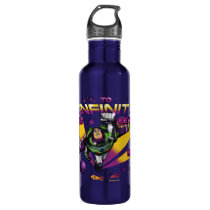 "Toy Story | Retro ""To Infinity And Beyond"" Buzz Stainless Steel Water Bottle"