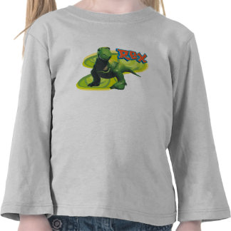 Toy Story s Rex standing with a smiling face Shirt