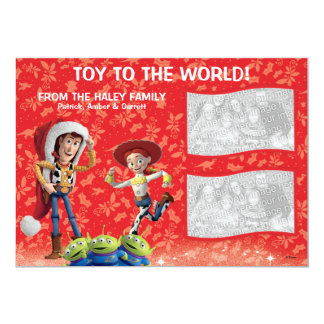 """Toy Story: Tarjeta del día de fiesta Invitación 5"""" X 7"""""""