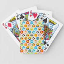Toy Story | Toy Icon Pattern Bicycle Playing Cards