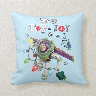 Toy Story | Toy = Joy Throw Pillow