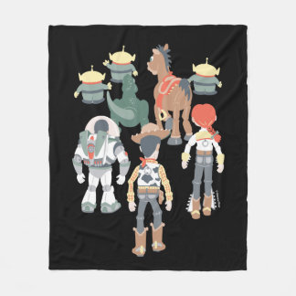 Toy Story | Toy Story Friends Turn 6 Fleece Blanket