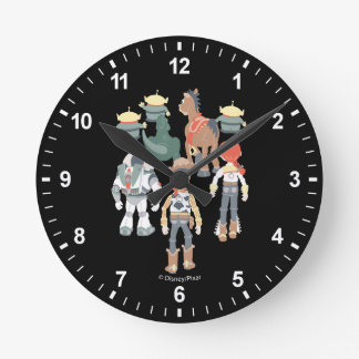 Toy Story | Toy Story Friends Turn 6 Round Clock
