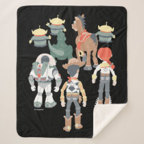 Toy Story | Toy Story Friends Turn 6 Sherpa Blanket