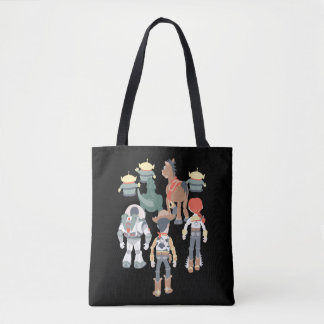 Toy Story | Toy Story Friends Turn 6 Tote Bag