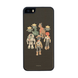 Toy Story | Toy Story Friends Turn 6 Wood iPhone SE/5/5s Case