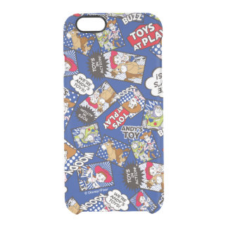 Toy Story | Toys at Play Comic Pattern Clear iPhone 6/6S Case