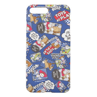 Toy Story | Toys at Play Comic Pattern iPhone 7 Plus Case