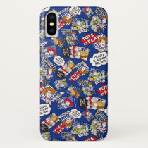 Toy Story | Toys at Play Comic Pattern iPhone X Case