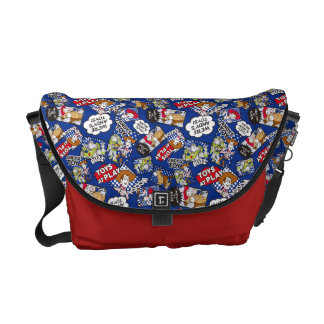 Toy Story | Toys at Play Comic Pattern Messenger Bag