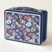 Toy Story | Toys at Play Comic Pattern Metal Lunch Box