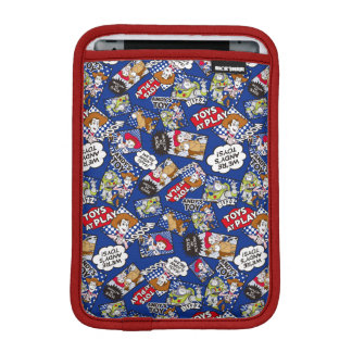 Toy Story | Toys at Play Comic Pattern Sleeve For iPad Mini