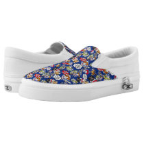 Toy Story | Toys at Play Comic Pattern Slip-On Sneakers