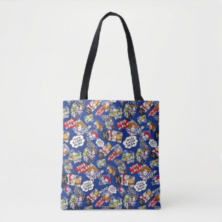 Toy Story | Toys at Play Comic Pattern Tote Bag