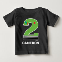 Toy Story | Two Infinity and Beyond Birthday Baby  Baby T-Shirt