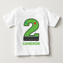 Toy Story | Two Infinity and Beyond Birthday Baby T-Shirt