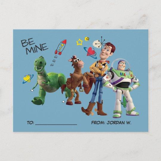 Toy Story Valentine S Day Holiday Postcard Zazzle Com
