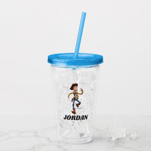 Toy Story - Woody | Add Your Name Acrylic Tumbler