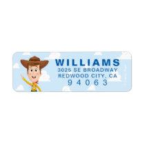 Toy Story | Woody Birthday Label