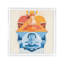 Toy Story | Woody & Buzz Reversible Graphic Acrylic Tray