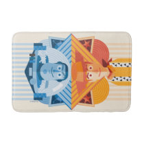 Toy Story | Woody & Buzz Reversible Graphic Bath Mat