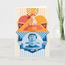 Toy Story | Woody & Buzz Reversible Graphic Card