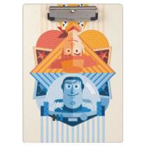 Toy Story | Woody & Buzz Reversible Graphic Clipboard