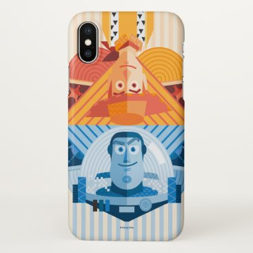 Toy Story   Woody & Buzz Reversible Graphic iPhone X Case